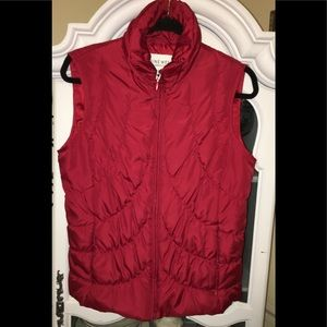 Red Nine West Vest SMALL
